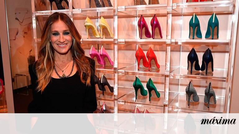 441227d6b Sarah Jessica Parker tem uma nova coleção de sapatos - Moda - Máxima