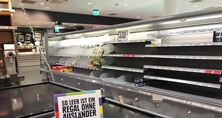 Supermercado deixa mensagem poderosa sobre racismo e xenofobia