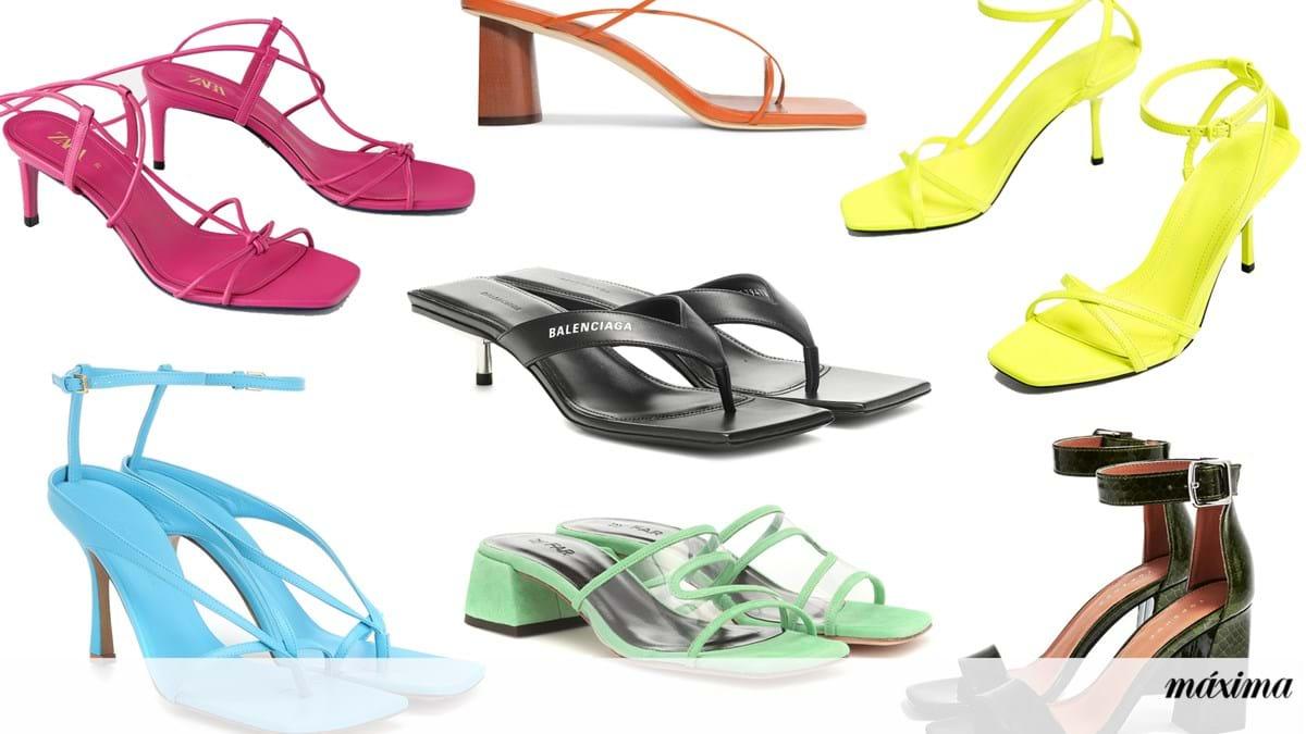 Os sapatos quadrados são a principal tendência deste verão