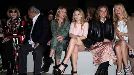 Londres: Front Row Outono-Inverno 2014
