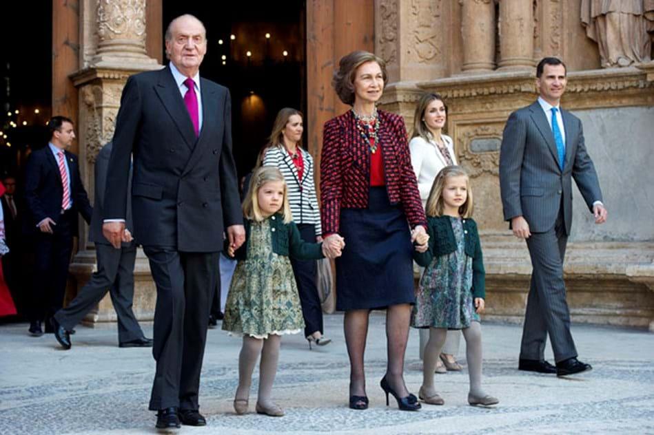 ab1ace68a169e Casa Real espanhola  a passagem de um legado - Celebridades - Máxima