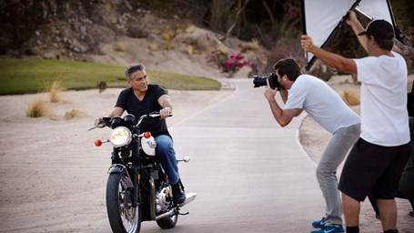 Making of George Clooney para Omega