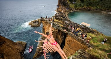Red Bull Cliff Diving no Feminino