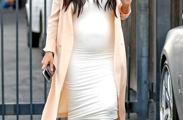 O Estilo Pré-mamã de Kim Kardashian