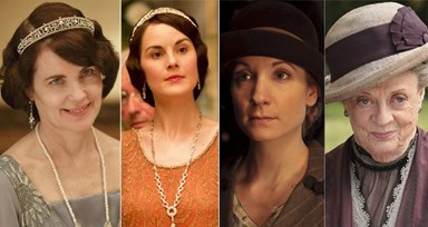 O Guarda-Roupa de Downton Abbey