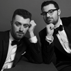 Sam Smith e Jimmy Napes @instagram@goldenglobes