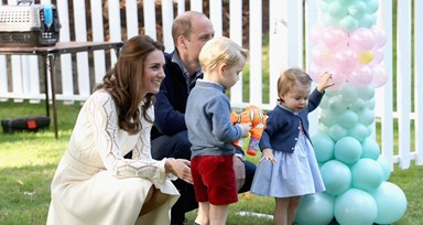 William e Kate no Canadá