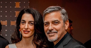 Amal Clooney no World Economic Forum