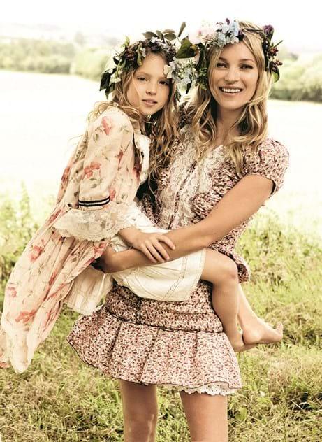 ae62c71f076ff Filha de Kate Moss protagoniza primeira campanha - Notícias - Máxima