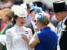 Kate Middleton e Zara Phillips