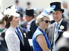 Kate Middleton, Zara Phillips e Príncipe William