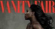 Serena Williams fotografada grávida para a 'Vanity Fair'
