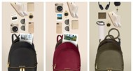 On-the-go com as novas mochilas Michael Kors