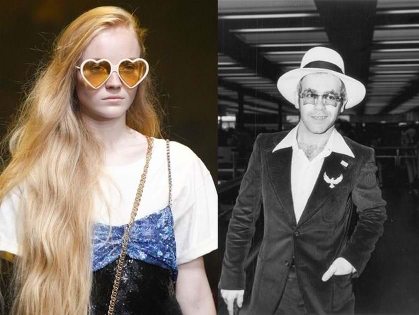227f651df09df Coleção Gucci em homenagem a Elton John - Moda - Máxima