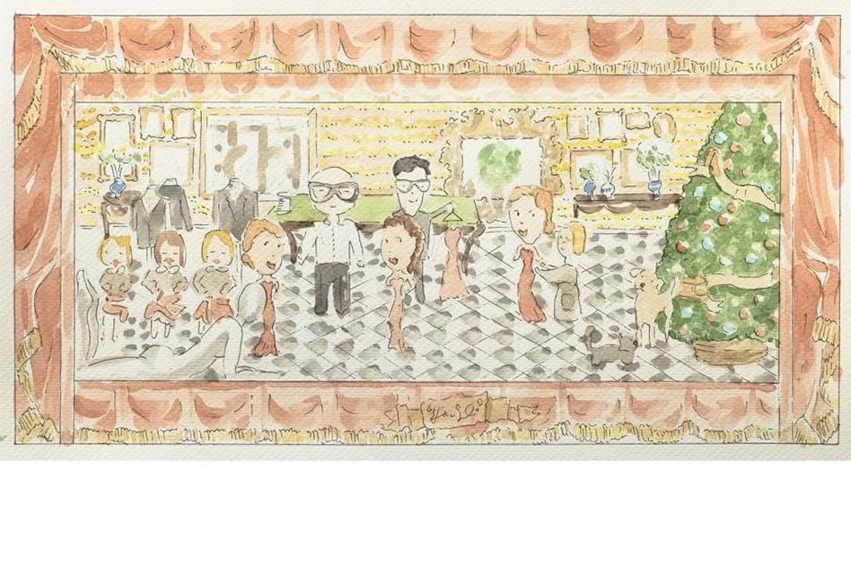 2e5a7753bb4 Mercado de Natal Dolce   Gabbana em Londres - Moda - Máxima