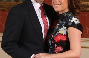 A princesa Eugenie está noiva de Jack Brooksbank