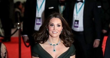 Kate Middleton usa o vestido ideal para todas as grávidas