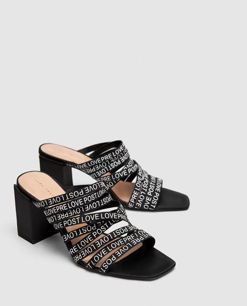 fb9b7fd3d93f As novas sandálias da Zara falam de amor - Moda - Máxima