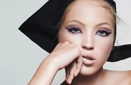 Lila Grace Moss é o novo rosto da Marc Jacobs Beauty