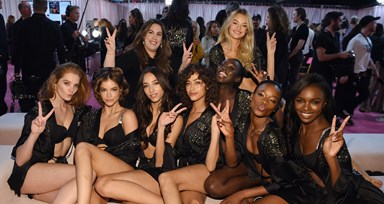 O backstage do Victoria's Secret Fashion Show 2018