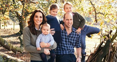 As adoráveis fotografias de Natal de Kate, William, Harry e Meghan