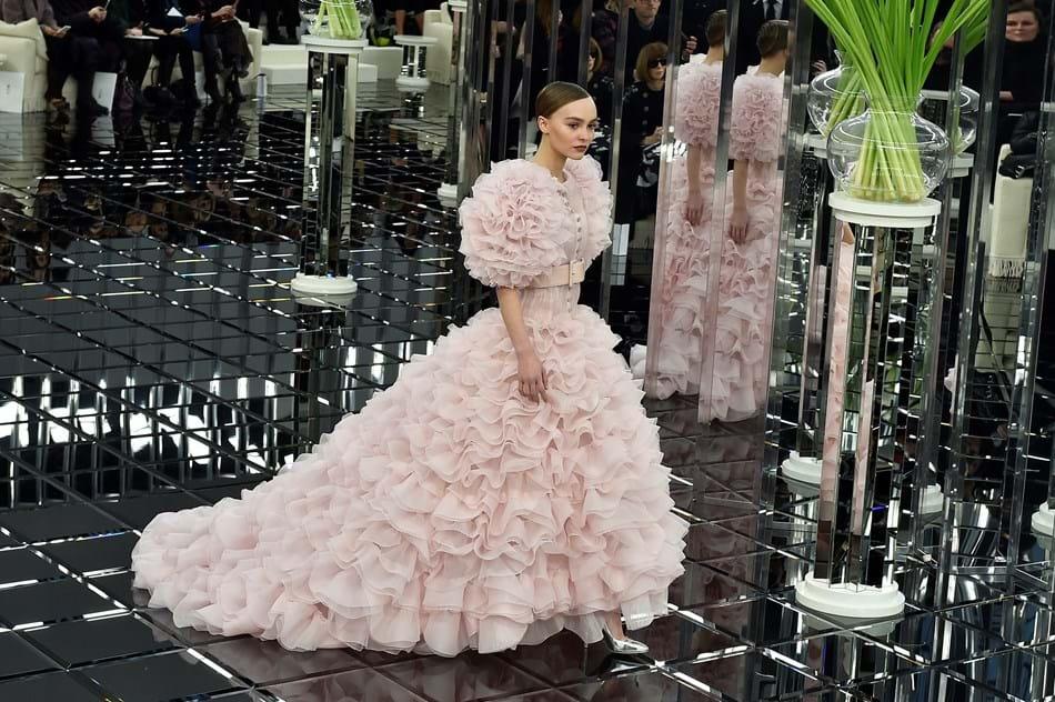 Desfile alta-costura Chanel primavera-verão 2017, a 24 de janeiro de 2017
