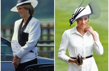 16 vezes em que Meghan Markle se inspirou em Diana
