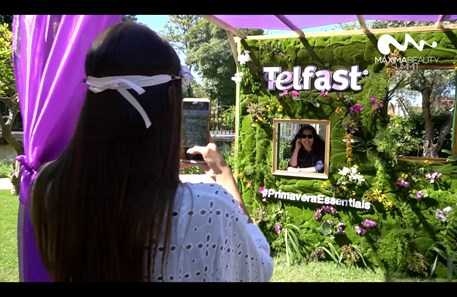 Telfast no Máxima Beauty Summit 2019
