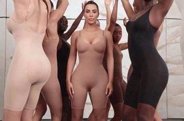 Kim Kardashian lança marca de lingerie e a polémica já estalou