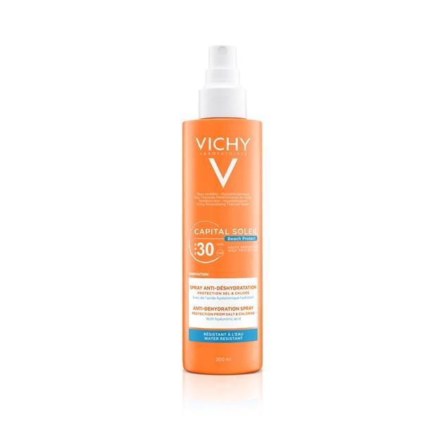 Capital Soleil Beach Protect Anti Dehydration Spray SPF30, €19,50, Vichy