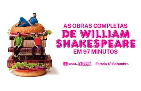 Passatempo peça 'As Obras Completas de William Shakespeare em 97 minutos' // Vencedores