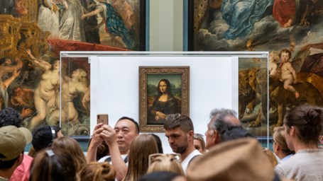 Mona Lisa, o pesadelo do Louvre