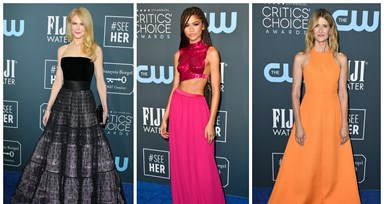 A passadeira azul dos Critics' Choice Awards 2020