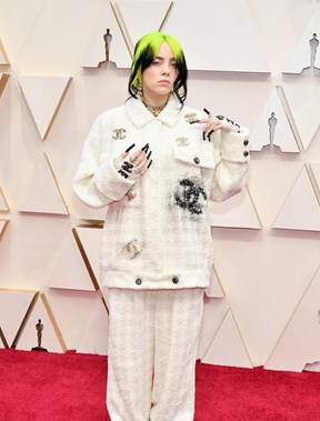 Billie Eilish em Chanel