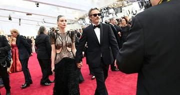 Os casais da passadeira vermelha dos Óscares